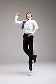 dancing business man