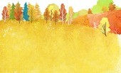 Seasons landscape illust