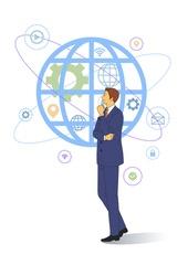 IoT Business Illust