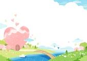 Spring Backgound Illust