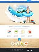 Travel web template