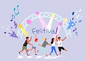 Festival Illustration