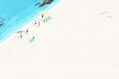 Summer Backgound Illust