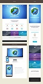 Mobile and web templates