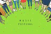 Music Festival Illust