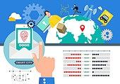 Big Data Illust