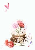 The carnation illust