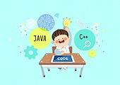 Coding Edu Illust