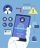 Finance Security Illust