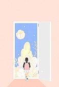 Fantasy Background Illust