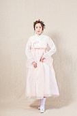 Beautiful Korean woman in hanbok