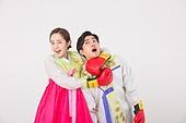 Korean couple in Hanbok