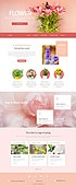 flower web design