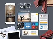 Business Mobile Mockup