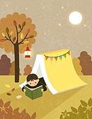 Autumn is the best season for reading