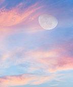 Moon Clouds Vertical