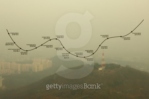 서울의 미세먼지