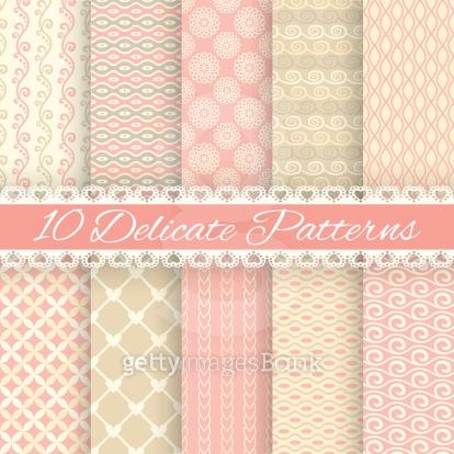 10가지 패턴세트