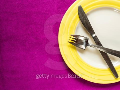 접시 도자기 앙상블