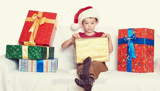 크리스마스엔 역시 선물이...