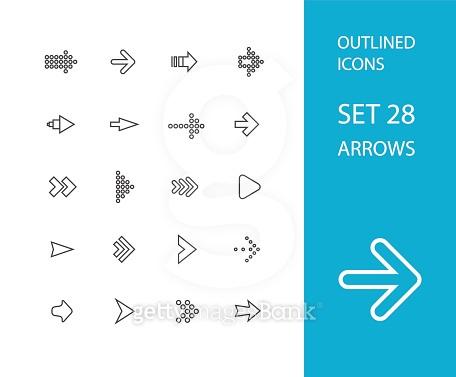 Icon set - Arrows