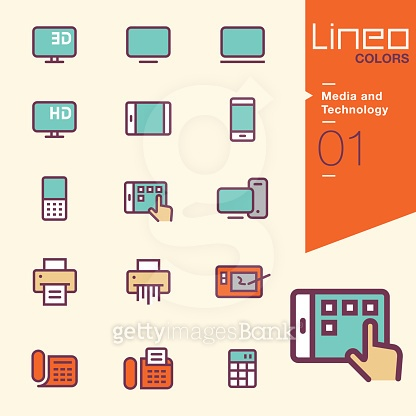 Lineo Colors icons