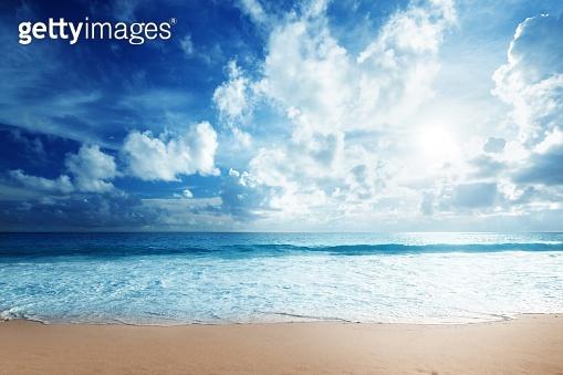 깔끔한 풍경작가 - 블루