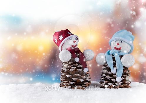 눈사람과 산타할아버지