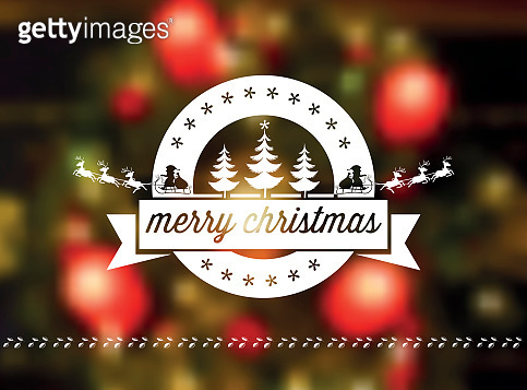 흐린배경 크리스마스 배너