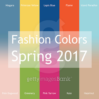 Fashion Colors Spring 2017