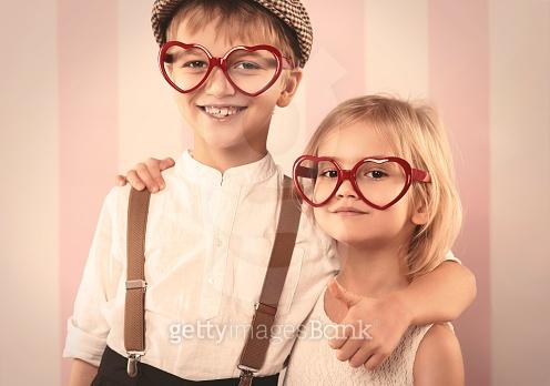 귀여운 커플