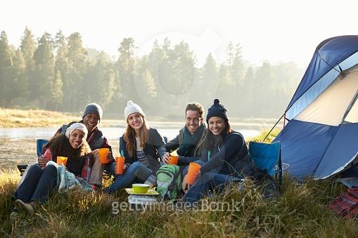 가을 캠핑