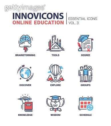 Line icon - Education