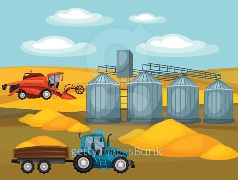Harvesting Illust