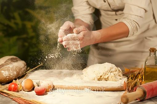 baker hands