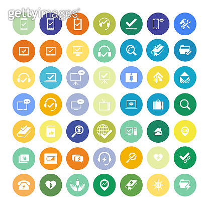 Set of 49 Icons