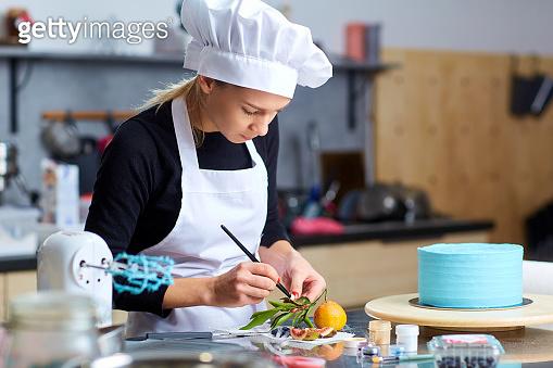 Baking a woman