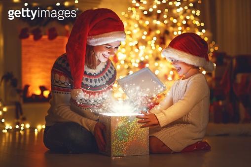 크리스마스 밤 산타