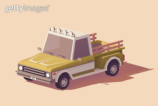 자동차 3D 일러스트