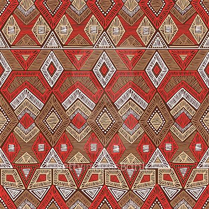 Bohemian seamless pattern