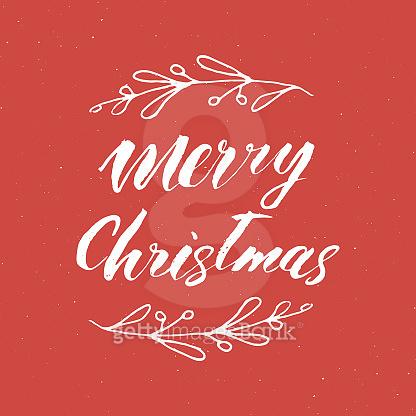 Calligraphy, Christmas