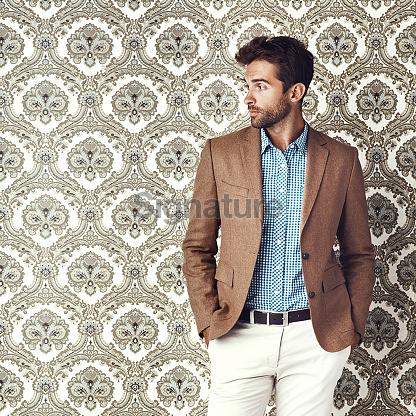 stylishly dressed