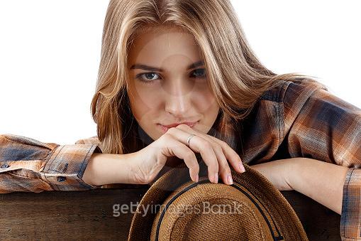 Brown pretty woman
