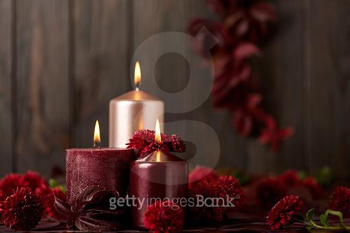 성탄절 촛불