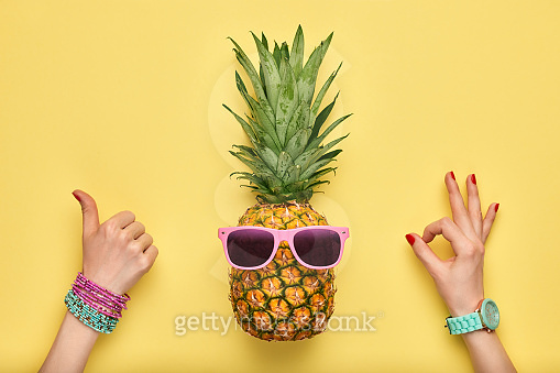 I'm a pineapple