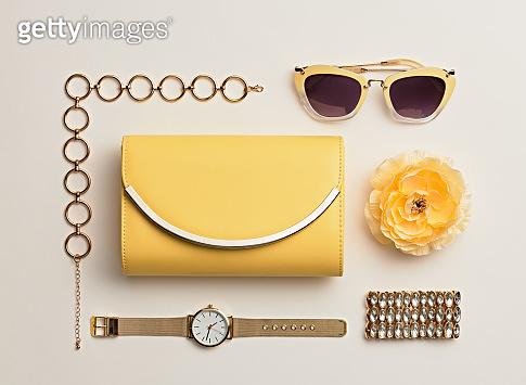 Fashion. Woman Accessories Set