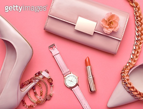 pink & object