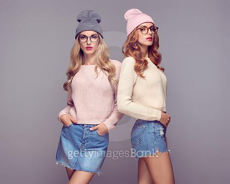 twin girl