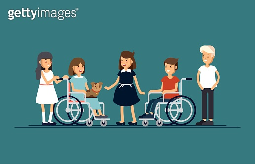 Caring for the disabled people