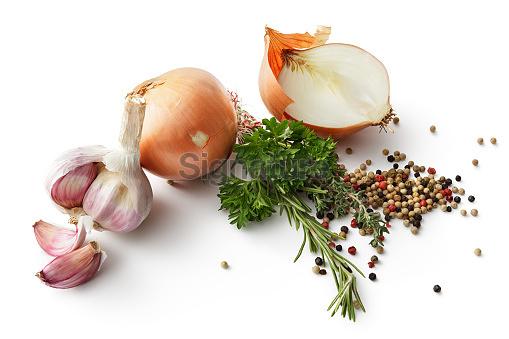 다양한 요리 재료
